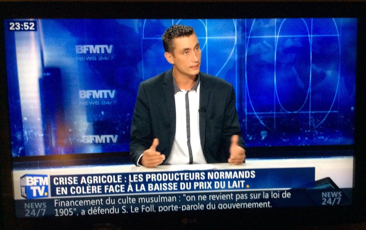 BFM TV – Interview de Samuel Vandaele, secrétaire général, 03/08/2016