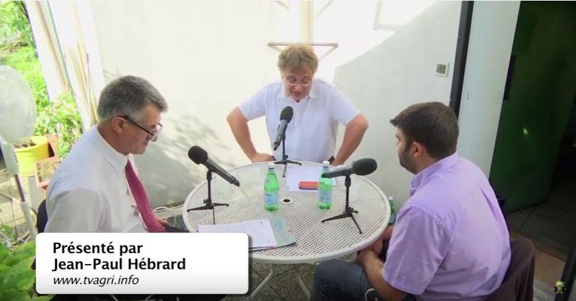 Débat entre Jéremy Decerle, président Jeunes Agriculteurs et Jean Lassalle TV AGRI- Juillet 2016