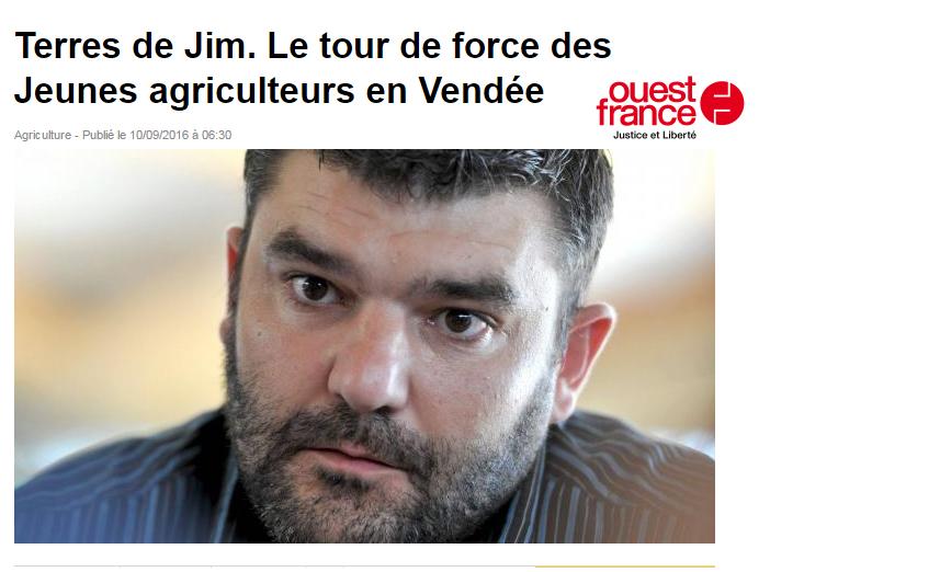 ITW Jérémy Decerle Ouest France – 10/09/2016