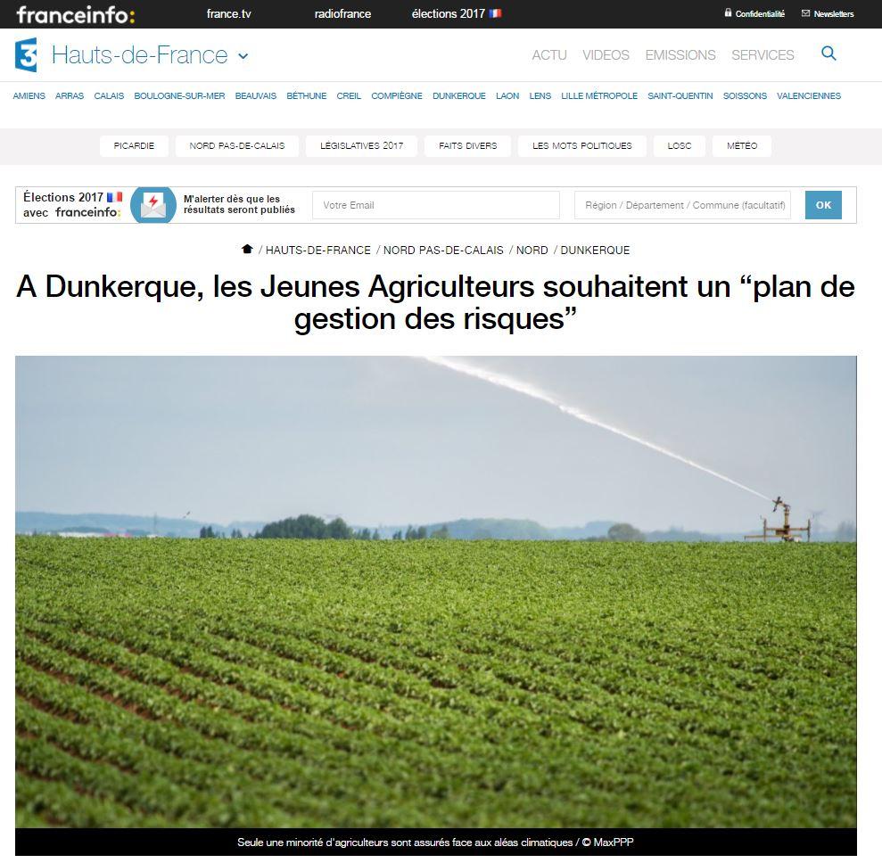 France 3 Hauts de France : 51e congrès JA