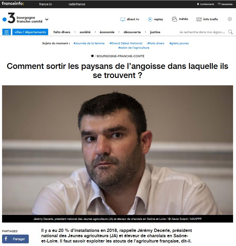 Jérémy Decerle / France 3 BFC