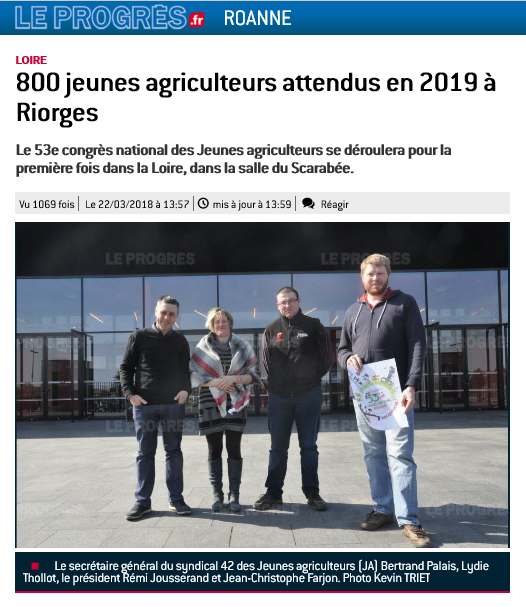 Congrès 2019 / Le Progrès