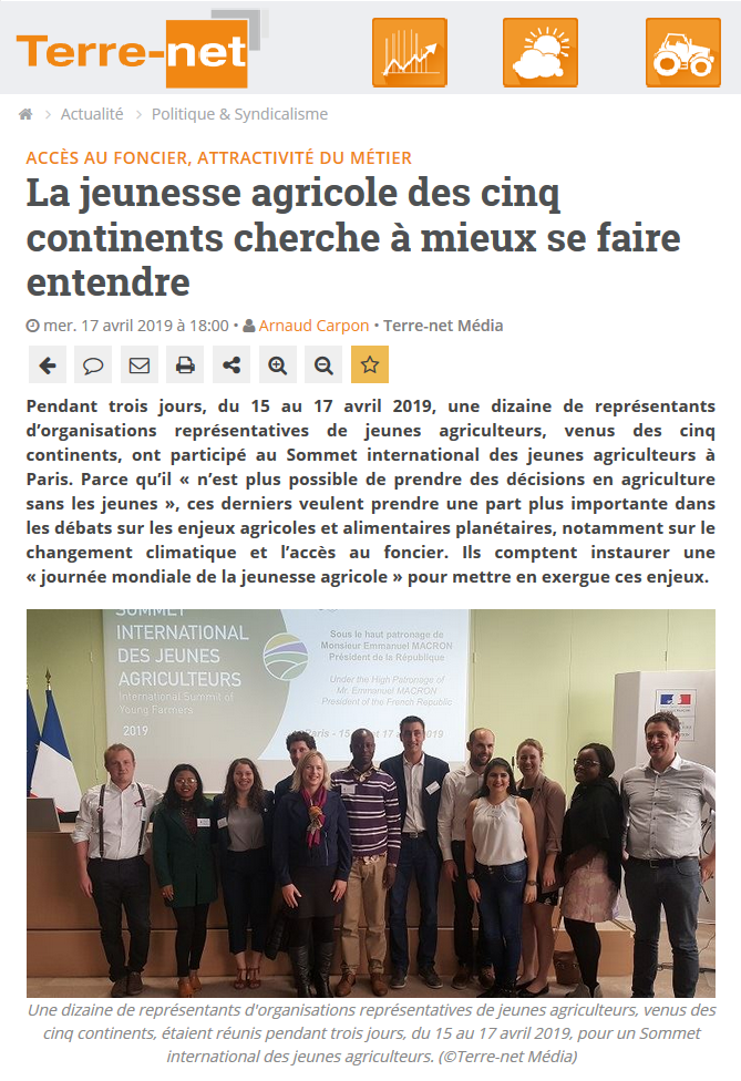 SIJA 2019 / Terre-net